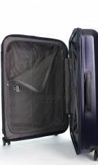 Střední cestovní kufr D&N 8160-06 tmavě modrý č.9