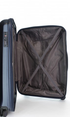 Střední cestovní kufr D&N 8160-06 tmavě modrý č.10