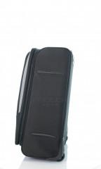 Střední cestovní kufr D&N 7260-01 černo-šedý č.2