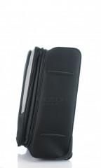 Střední cestovní kufr D&N 7260-01 černo-šedý č.5