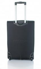 Střední cestovní kufr D&N 7260-01 černo-šedý č.6