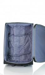 Střední cestovní kufr D&N 7260-01 černo-šedý č.7