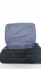 Střední cestovní kufr D&N 7260-01 černo-šedý č.8