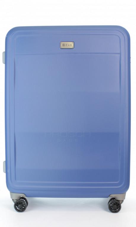 Velký cestovní kufr D&N 9670-07 modrý