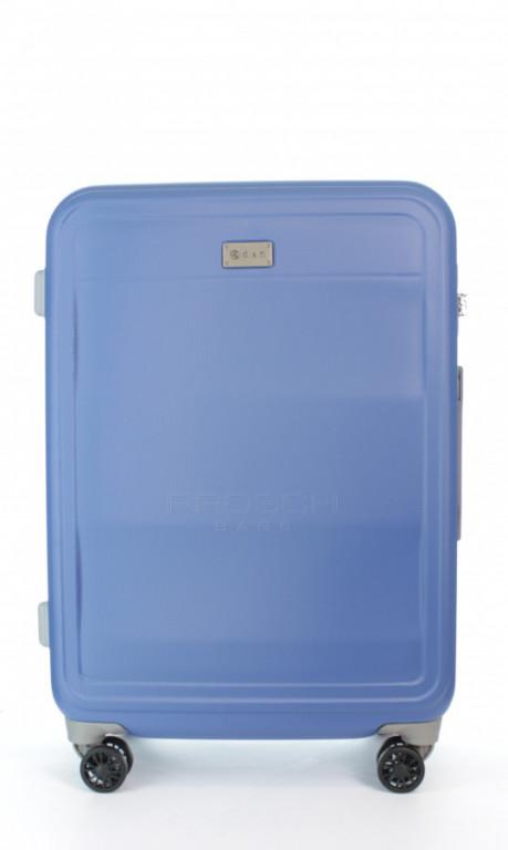 Střední cestovní kufr D&N 9660-07 modrý