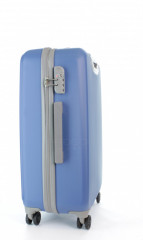 Střední cestovní kufr D&N 9660-07 modrý č.2