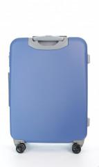 Střední cestovní kufr D&N 9660-07 modrý č.3
