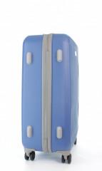 Střední cestovní kufr D&N 9660-07 modrý č.4