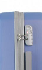 Velký cestovní kufr D&N 9670-07 modrý č.6