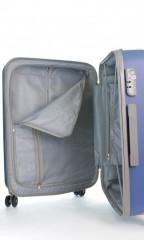 Velký cestovní kufr D&N 9670-07 modrý č.10