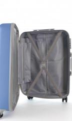 Velký cestovní kufr D&N 9670-07 modrý č.11