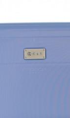 Střední cestovní kufr D&N 9660-07 modrý č.7