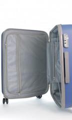 Střední cestovní kufr D&N 9660-07 modrý č.9