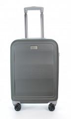 Kabinový cestovní kufr D&N 9650-13 šedý č.5