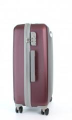Střední cestovní kufr D&N 9660-12 bordový č.2