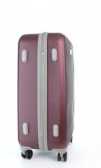 Střední cestovní kufr D&N 9660-12 bordový č.4