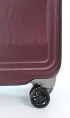 Střední cestovní kufr D&N 9660-12 bordový č.8