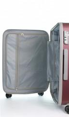 Střední cestovní kufr D&N 9660-12 bordový č.9