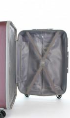 Střední cestovní kufr D&N 9660-12 bordový č.11