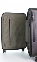 Velký cestovní kufr D&N 8270-01 černý č.9