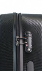 Střední cestovní kufr D&N 8260-01 černý č.5