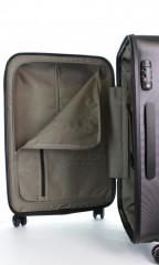 Střední cestovní kufr D&N 8260-01 černý č.9