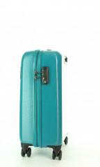 Kabinový cestovní kufr D&N 8250-05 petrol č.2