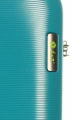 Kabinový cestovní kufr D&N 8250-05 petrol č.7