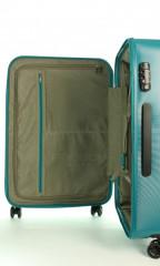 Kabinový cestovní kufr D&N 8250-05 petrol č.9