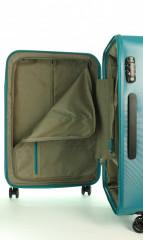 Kabinový cestovní kufr D&N 8250-05 petrol č.11