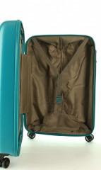 Kabinový cestovní kufr D&N 8250-05 petrol č.12