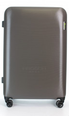 Velký cestovní kufr D&N 8270-13 stříbrný č.1