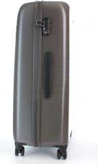 Velký cestovní kufr D&N 8270-13 stříbrný č.2