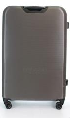 Velký cestovní kufr D&N 8270-13 stříbrný č.3