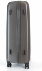Velký cestovní kufr D&N 8270-13 stříbrný č.4