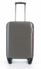 Kabinový cestovní kufr D&N 8250-13 stříbrný č.5
