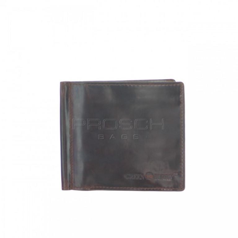 Kožená peněženka Greenburry 4807-24 hnědá