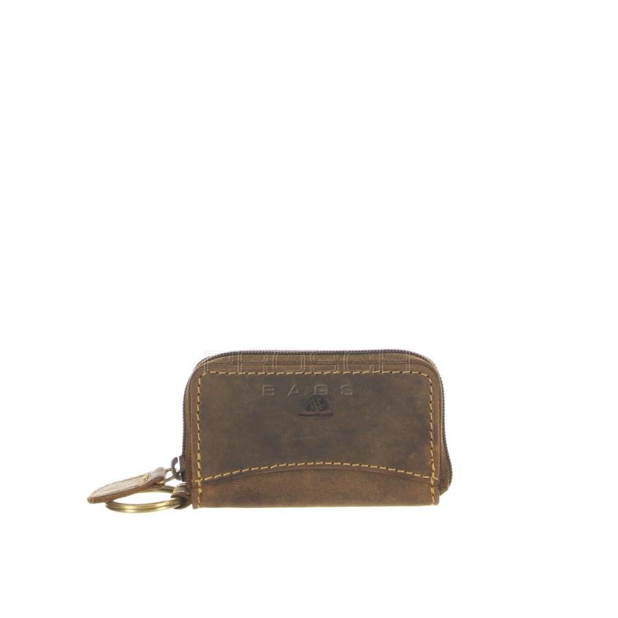 Kožená klíčenka Greenbury 1624-25 hnědá  2e2686c0813