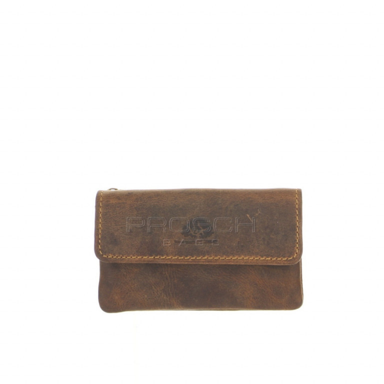 Kožená klíčenka Greenburry 1623-25 hnědá