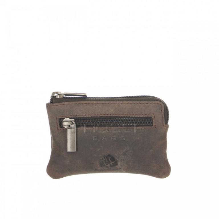 Kožená klíčenka Greenburry Revival 1960-22 hnědá