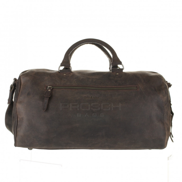 Cestovní kožená taška Greenburry Revival 1961-22