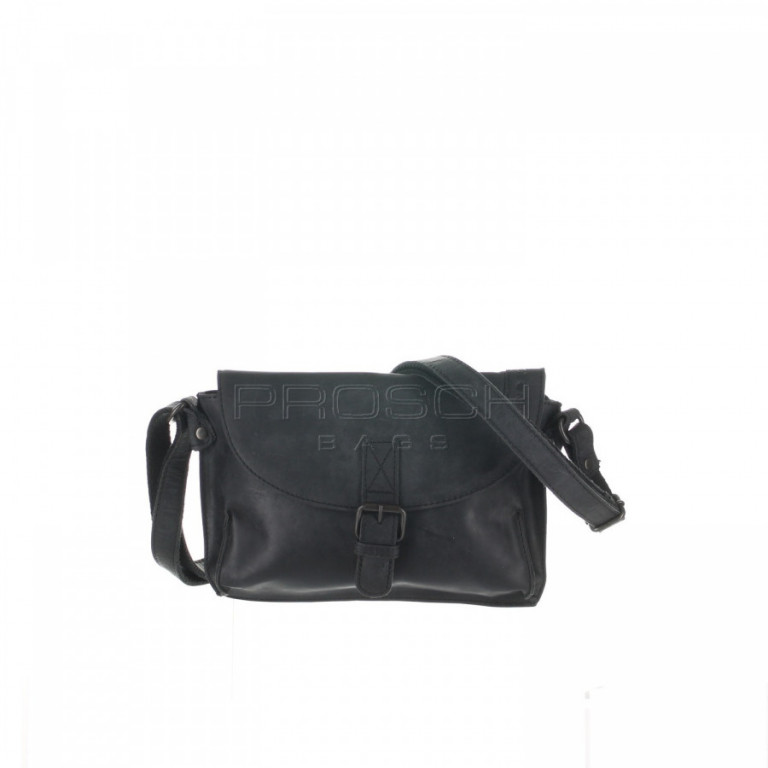 Kožená taška Greenburry Revival 1942-20 černá