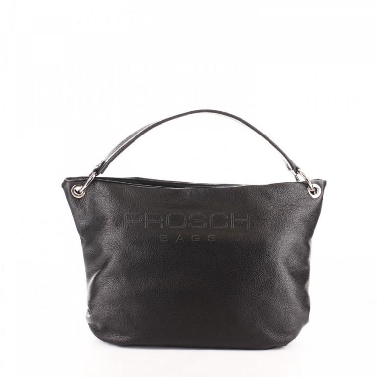 Kožená kabelka Aurora Prestige Sorrento-M černá