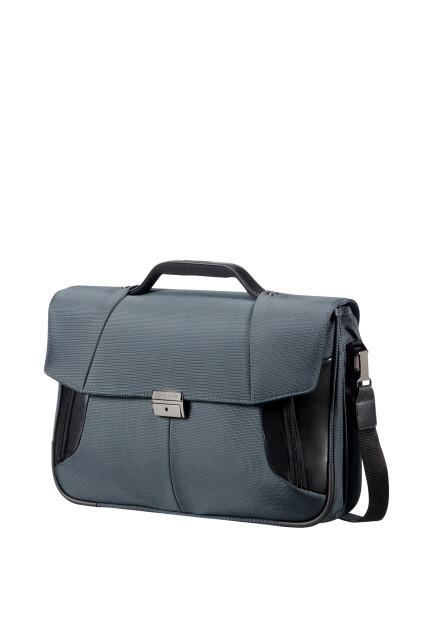Aktovka Samsonite XBR Briefcase2 15,6 Grey/Black