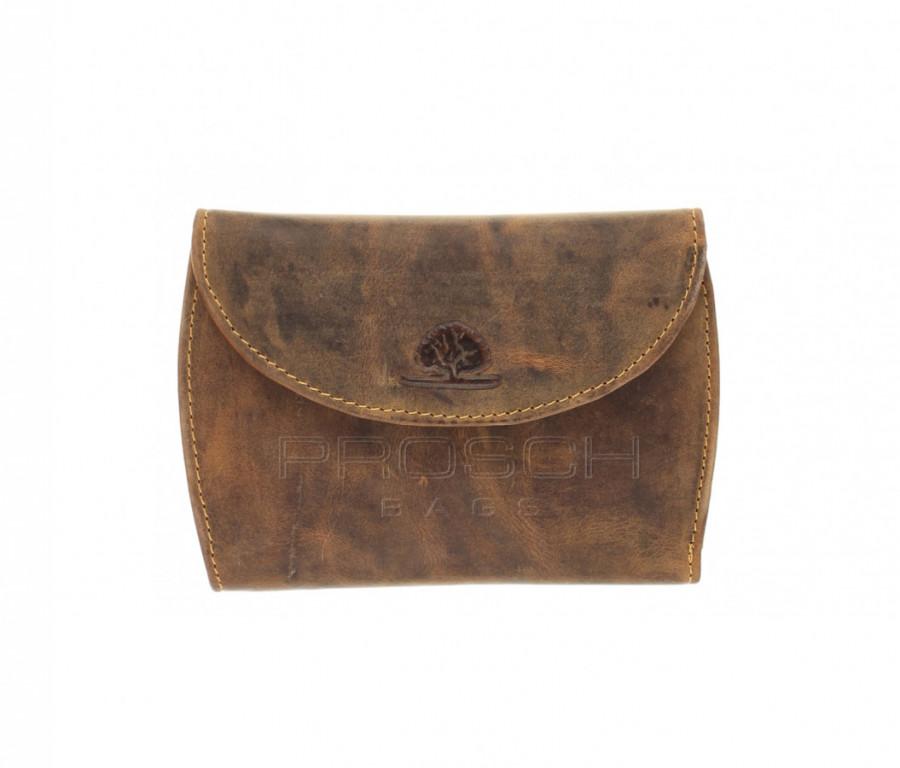 Kožená peněženka Greenburry 1772A-25 hnědá
