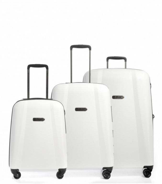 Sada kufrů EPIC GTO EX bílá