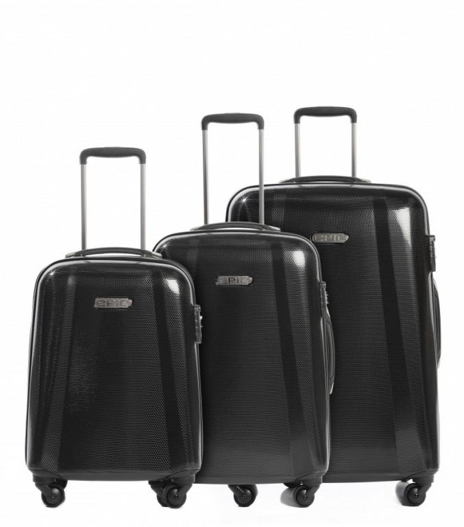 Sada kufrů EPIC GTO EX černá