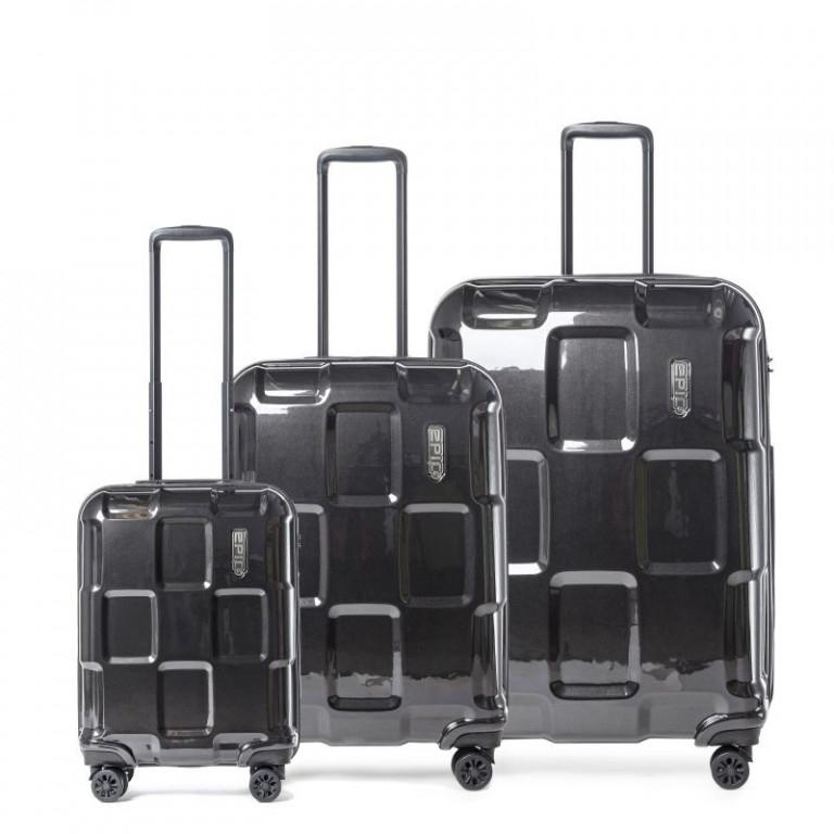 Sada kufrů Epic Crate černá