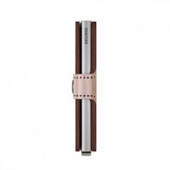 Miniwallet Secrid Metallic Rose-Bordeaux č.4