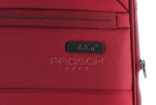Sada kufrů D&N 7004 Bordo č.13
